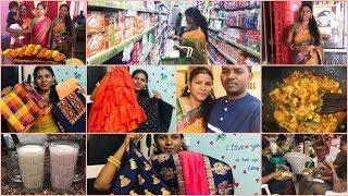 Uyyala Function Vlog/Latest Saree Collection/Ruffle Sarees/Cotton Dress Material/Sana Silk Sarees