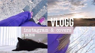 VLOGG │ hvordan jeg redigerer instagrambildene mine  & covers