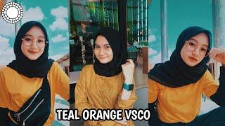 Cara edit foto Teal Orange menggunakan VSCO Mobile Full Pack
