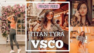 How I Edit Instagram Photos (Peachy Feed) - Titan Tyra