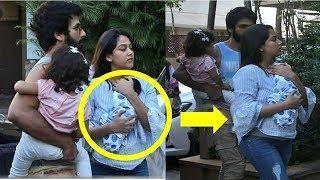 VIDEO: SHAHID KAPOOR  के बेटे की पहली PHOTO सामने आई, मां मीरा की गोद में दिखे ZAIN KAPOOR