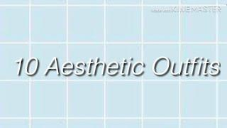 || 10 Aesthetic Outfits || READ DESC || Gacha Life ||