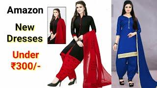 AMAZON SUIT DESIGN FOR LADIES :- ANARKALI/PUNJABI/NECK DRESSES COLLECTION | IMAGE/PHOTO UNDER ₹300/-