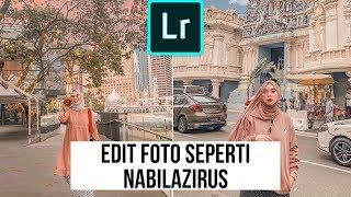 100% Mirip Edit Foto Seperti NABILAZIRUS-Tutorial Lightroom Mobile 2019