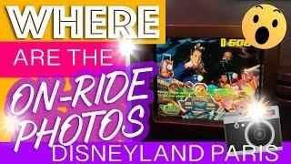 Tips for on-ride photos Disneyland Paris | where are the on-ride pictures taken?