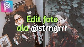 Edit Foto ala @strngrrr - Tips Trik Instagram - Picsart