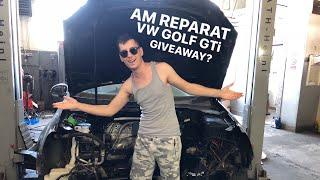 #191 Car vLog - AM REPARAT VW GOLF GTi - GIVEAWAY?