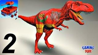 MONZO - Model Builder - Build Jurassic TYRANNOSAURUS REX | Game For Kids #FHD