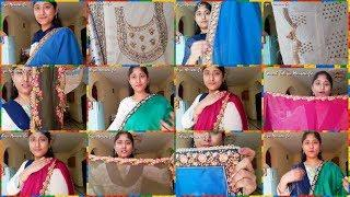 NEW JOMSO SAREES COLLECTION| ONLINE SHOPPING SAREES HAUL| JOMSO SAREES REVIEW|SMART TELUGU HOUSEWIFE
