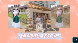 Cara Edit Foto Seperti @NABILAZIRUS -Lightroom Mobile Tutorial #editnabilazirus #editfoto