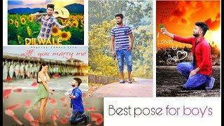 Best pose for man's photoshoot | new styles poses for boys | How to pose like model | DSLR