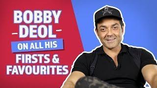 Bobby Deol On All His Firsts & Favourites | Pinkvilla | Race 3 | Yamla Pagla Deewana Phir Se