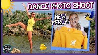 DANCE PHOTO SHOOT & KARLI REESE NEW MERCH!!