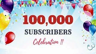 Craftastic's 100k Subscribers Celebration | Thank You all !!