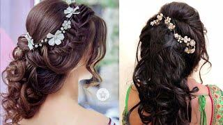 Engagement Hairstyle || Beautiful Different Hairstyle For girls Collection || Hairstyle Images
