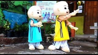 UPIN & IPIN DANCE - BABY SHARK DANCE SONG FOR KIDS | ANAK-ANAK ASIK LUCU SEKALI