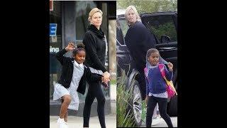 ACTRESS CHARLIZE THERON CALLS HER BLACK ADOPTED SON A GIRL