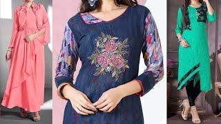 Latest Office Wear Kurti Design Images / Photo 2018 || Simple Kurti Design Collection