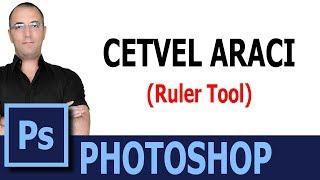 Photoshop CS6 Eğitim Seti # 20 -  CETVEL ARACI / RULER TOOL