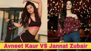 Avneet Kaur VS Jannat Zubair Competition | Instagram Photo Collection |