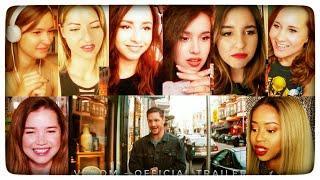 VENOM - Official Trailer Reaction By Girls | Venom Trailer Reaction | Venom Trailer Reactions Mashup
