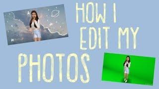 HOW I EDIT MY INSTA PHOTOS // Avakin Life