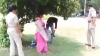 INDIAN Funny Police Beating Girl And  Boy
