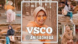 Edit Foto Ala Selebgram @anisadheaa Menggunakan VSCO X Fullpack