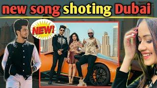 Mr faisu & jannat Zubair _ New song shoting In Dubai _ tik tok king & Tik tok Queen