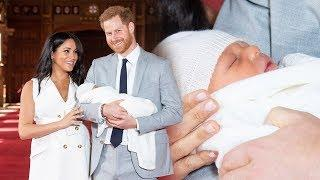 Harry and Meghan introduce baby boy – see all the photos