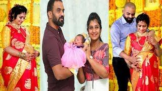 Singer Parnika Baby Shower Function Photos|| Parnika Bbaby girl Photos  Aone