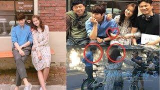 Go Ara ❤️ Kim Myungsoo (Infinite's L) Are All Smiles While Filming Miss Hammurabi