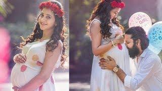 Anchor Lasya Manjunath ‎Conform Pregnancy with Baby girl Cut Photos | Lasya Manjunath