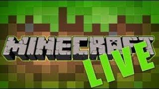 Sobrevivendo no minecraft ao vivo [servidor na descriçao]