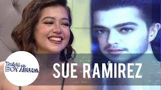 Sue Ramirez guesses the artists behind the gender-swap photo filter | TWBA