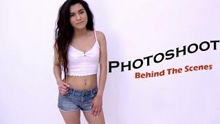 19 Years Old Girl Photoshoot Behind The Scenes