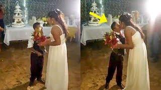 Boy marries a woman of his dreams in Mexico