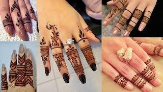 Finger Mehndi Design For Girls Very Beautiful Mehndi Design for Girls Photo Collection