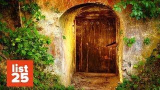 25 BIZARRE Secret Rooms Discovered