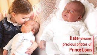 KATE, the Duchess of Cambridge, and Prince William releases precious photos of Prince Louis