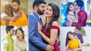 Best Couple photo pose idea 2019 /Stylish pri wedding photo shoot ideas