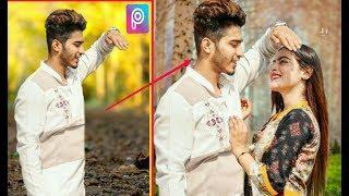 Picsart Manipulation Edit I  Boy And Girl Creative Photo Editing II Picsart Editing