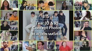 BTS LOVE YOURSELF 轉 Tear (O & R) Concept Photos REACTION mashup