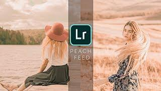 How to Edit Peach Tone - Lightroom Mobile Tutorial