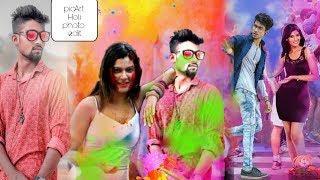 होली फोटो एडिटिंग विडीयो || PicArt - Holi photo EDT in hindi video ||girl and boy Holi photo EDT