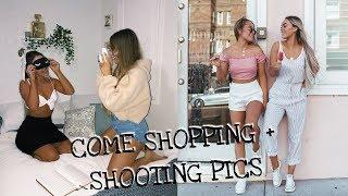 Come shopping with us! + taking Instagram photos