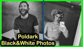 Poldark Tv Series: Black and White Photo Collection...