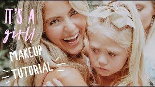 IT'S A GIRL!!! makeup tutorial (pinks + glow)