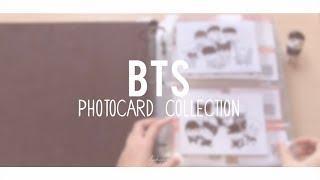 My BTS (방탄소년단) Photo Card Collection