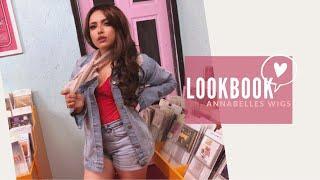 VINTAGE LOOKBOOK ????| ASHLEY MEZA ft. Annabelle's Wigs